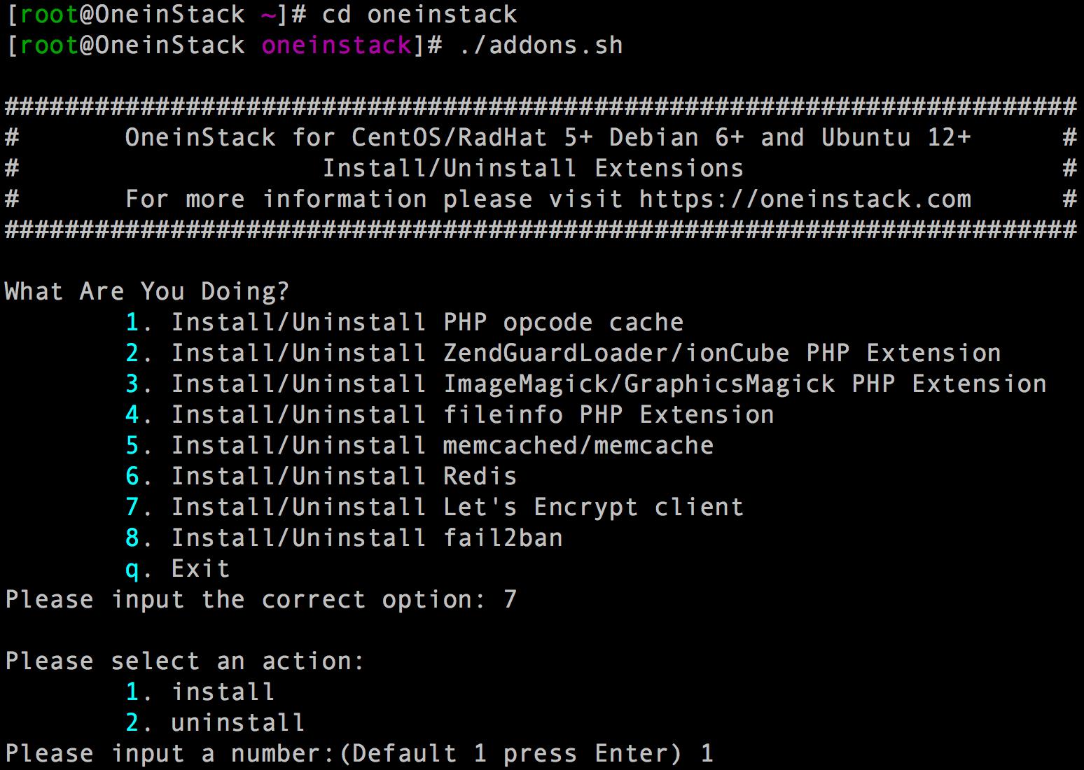 《推荐一键安装lnmp工具-如何添加附加组件?》